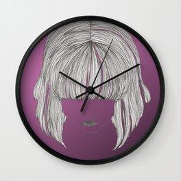 Pretty Hair Wall Clock