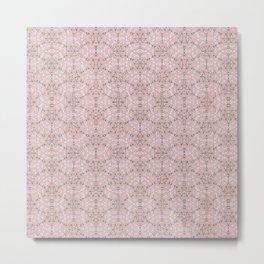 Happy Nature pattern Metal Print