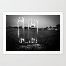 The Wave W/JMR1 Art Print