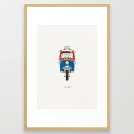 Thailand Tuk Tuk Framed Art Print