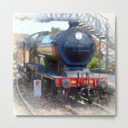 LNER B12 – 8572 Steam Train Metal Print