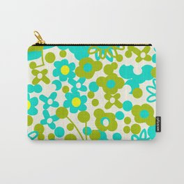 Green Flora Carry-All Pouch