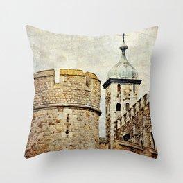 Tower of London Art Throw Pillow