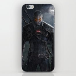Witcher 3 iPhone Skin