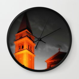 Church Tower Wall Clock