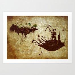 Movements Art Print