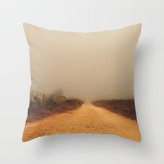 The road to farm Throw Pillow