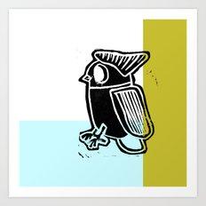 regular bird Art Print