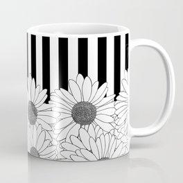 Daisy Stripe Coffee Mug