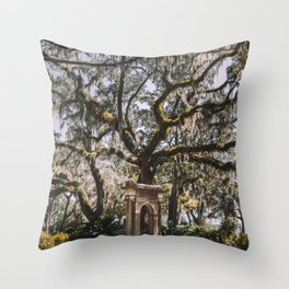 Bonaventure Cemetery - Savannah, Georgia III Throw Pillow