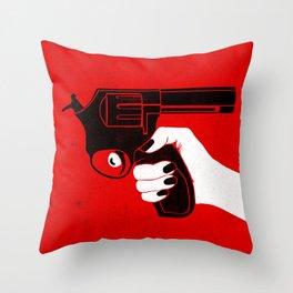 Self Checkout Throw Pillow