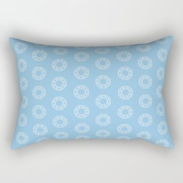 Happy Octagon Gems Rectangular Pillow
