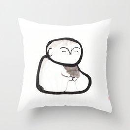 Buddha Meditating Throw Pillow