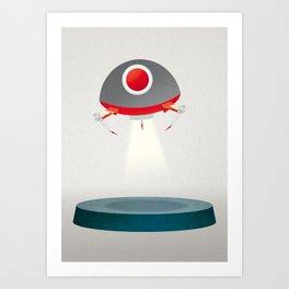 UFO by David Wildish Art Print