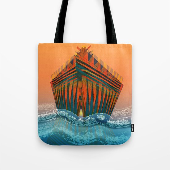 The Sea is my Home Tote Bag