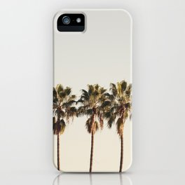 Golden Palms iPhone Case