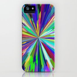 color wheel 06 iPhone Case