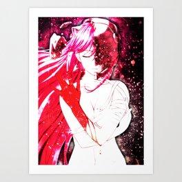 Elfen Lied   Lucy Kaede Art Print
