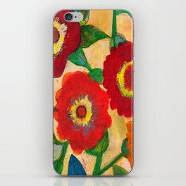 park flower1 iPhone Skin