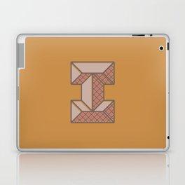BOLD 'I' DROPCAP Laptop & iPad Skin