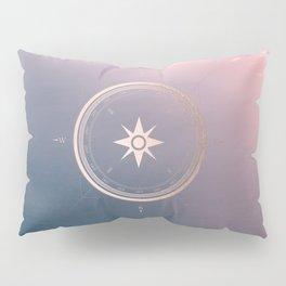 The Edge of Tomorrow - Rosegold Compass Pillow Sham
