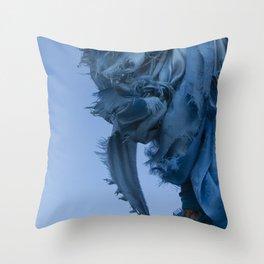 Sacred Blue Throw Pillow