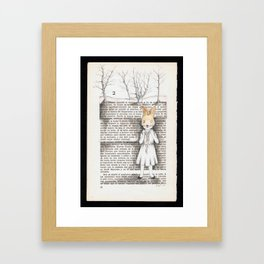 AOKIGAHARA Framed Art Print