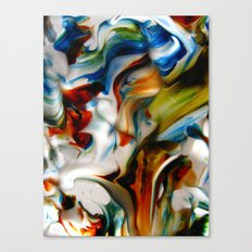 made waves Canvas Print