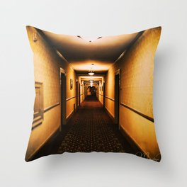 A hallway to remember Throw Pillow