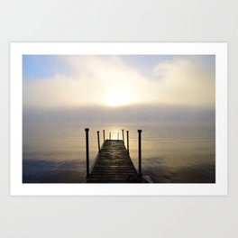 Into the Light: Sunrise, First Full Day of Fall Art Print