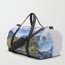 Snowdonia Tryfan Painting Duffle Bag