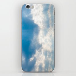 Look to the Sky iPhone Skin