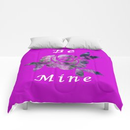 Be Mine Rose Comforters