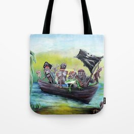 Pirate Booty Beach Tote Bag