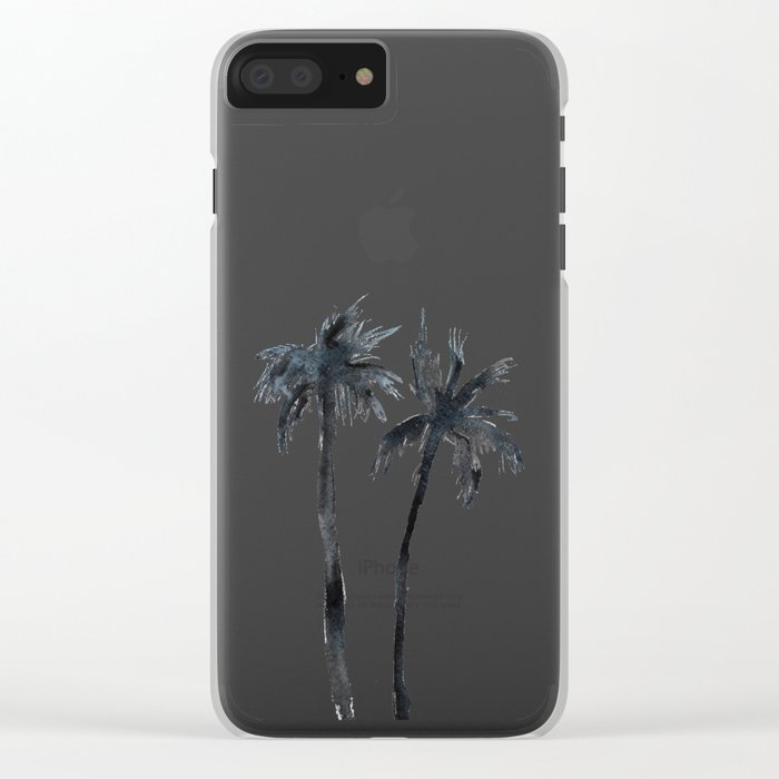 Alone together Clear iPhone Case