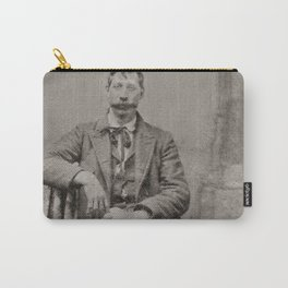 19th Century Vintage Portrait (with mustache) Carry-All Pouch