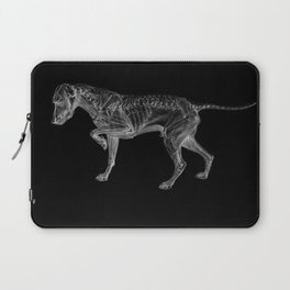 Dog Skeleton Laptop Sleeve