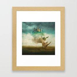 Out Of The Fog Framed Art Print