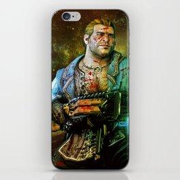 Dragon Age Varric Tethras Print iPhone Skin