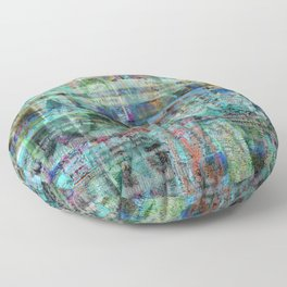 """Bad Oysters Tell No Lies (or """"I'm Keir Dullea"""" 06/07/16 Version) Floor Pillow"""