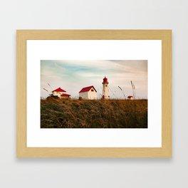 Phare de l'Anse-à-la-Cabane Framed Art Print