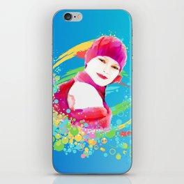 Creative Woman iPhone Skin