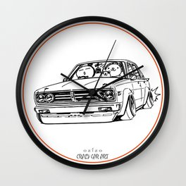 Crazy Car Art 0222 Wall Clock