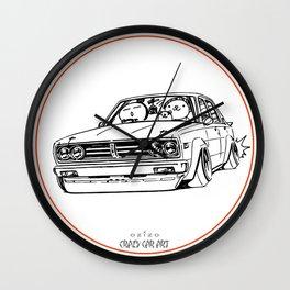 Crazy Car Art 0222 Wall Clock