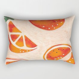 Tangelo Fun Rectangular Pillow