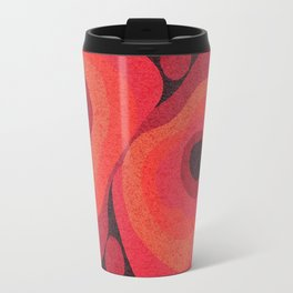 Danish Digital Flower Rug Travel Mug