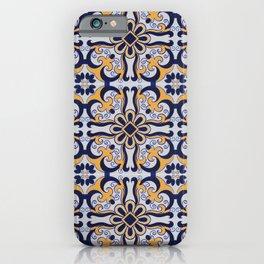 Portuguese tile iPhone Case