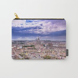 View Of Eternal City Rome Carry-All Pouch
