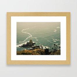 San Francisco Ocean  Framed Art Print