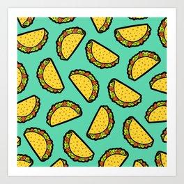 It's Taco Time! Art Print